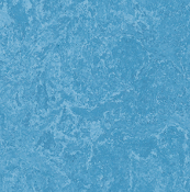Sky Blue Marmoleum Linoleum Click Single Tile Floating Flooring - Green Home Floors