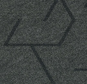 Forbo Flotex Triad Plank - Anthracite 131017